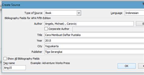cara membuat daftar pustaka manual di word contoh daftar isi manual book
