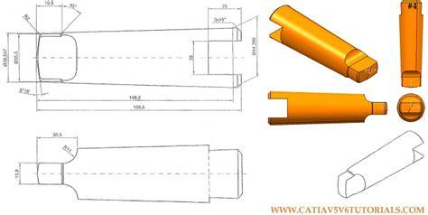 catia v5 video tutorial 2 sketch pad pocket pattern catia v5 video tutorial 4 radius chamfer pocket mirror