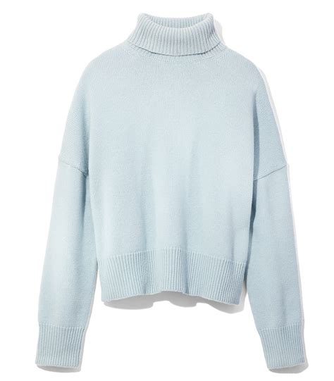 Blue Turtleneck nili lotan light blue turtleneck sweater light blue