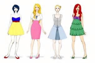 Modern disney princess fashion