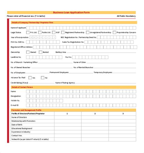 pdf form templates 15 application form templates free sle exle