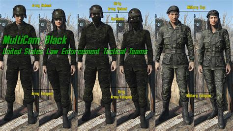 Forest Green Hex all camo uniforms at fallout 4 nexus mods and community