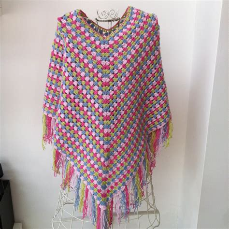 pattern crochet poncho crafty red crochet poncho