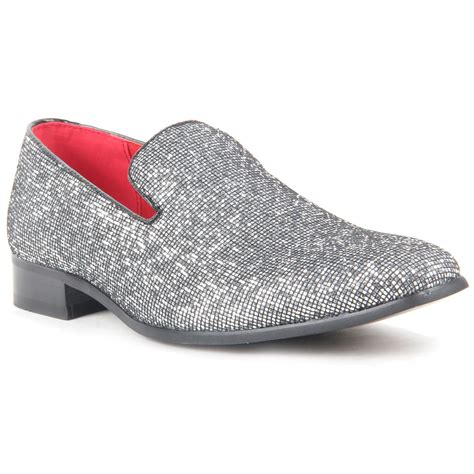 sparkling shoes for mens sparkling slip on shoes glitter sequin wear