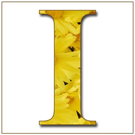 5 Letter Words Yellow enchanted s quot yellow flowers quot free scrapbook