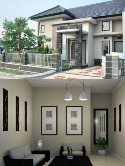 ide warna cat rumah mewah  elegan terbaru