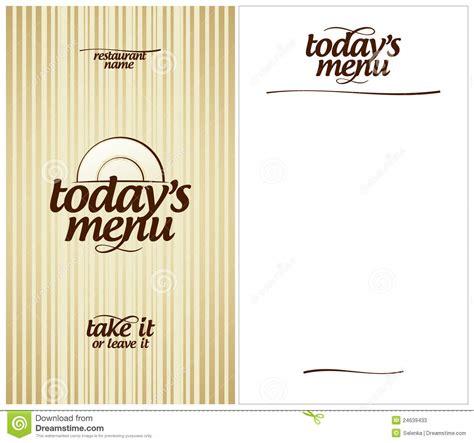 today s today s restaurant menu stock photos image 24639433