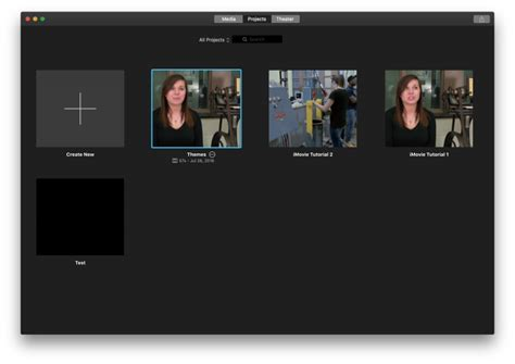 new themes imovie using themes in imovie media commons