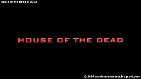 House Of The Dead 2003 by Vagebond S Screenshots House Of The Dead 2003
