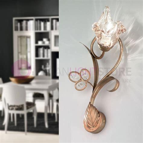 applique in stile sofia applique a parete stile classico oro antico 1 luce