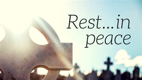 Rest In Peace On The Yegua wellspring community church sermon topics peace
