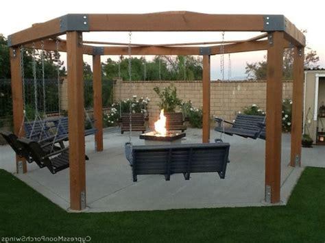 diy pit and swing inspiring pit gazebo plans diy porch swing pit home design garden octagon swing