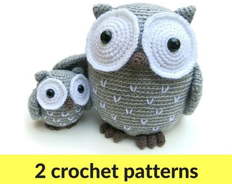 pattern for simple stuffed animal owl amigurumi patterns owl stuffed animal crochet owl