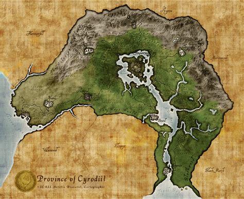 oblivion map cyrodiil map oblivion images
