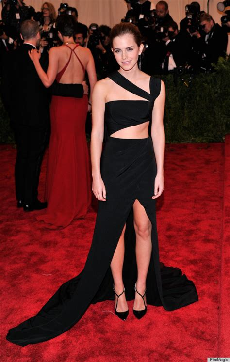 emma watson met gala emma watson met gala 2013 is a sexy change of pace photos