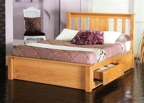 King Bed Frame With Drawers by Limelight Vesta 6 King Size Oak Wooden Bed Frame