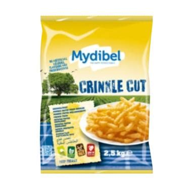 Fries Premium 2 5 Kg jual mydibel fries crinckle cut makanan instan 2 5