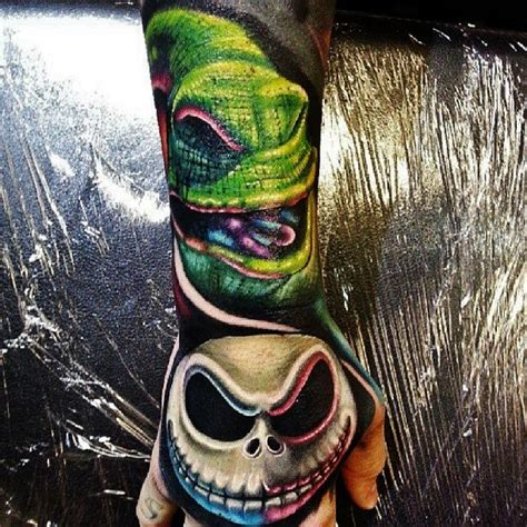 nightmare before christmas tattoo sleeve the world s catalog of ideas