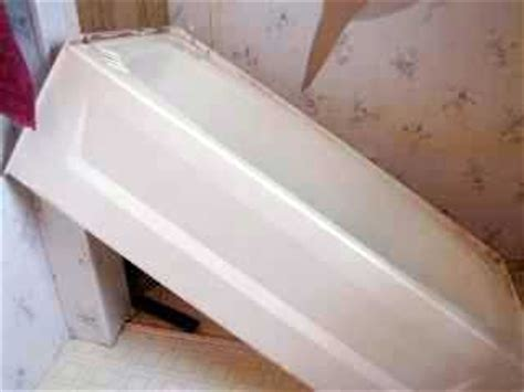 mobile home bathtub replacement how to replace a mobile home bathtub house projects