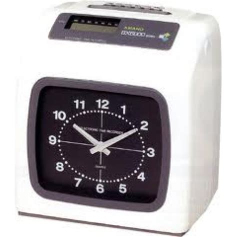 Pita Mesin Absensi Absen Kartu T1310 6 amano bx 6400n electronic time recorder timi office solution
