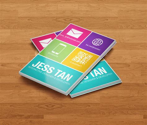 windows business card template 20 flat style business card exles