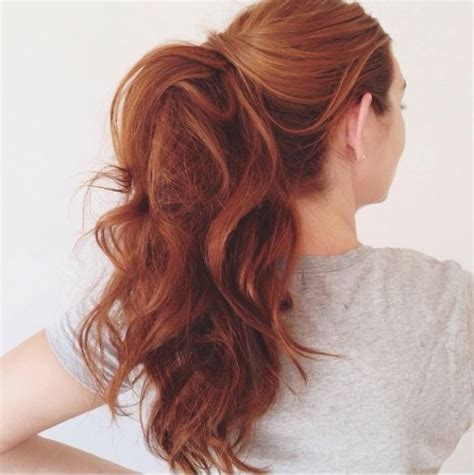 easy hairstyles in a ponytail 25 hairstyles for spring 2018 preview the hair trends now