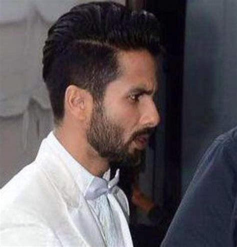 Shahid Kapoor New Hairstyle by Pics For Gt Shahid Kapoor In New Hairstyle