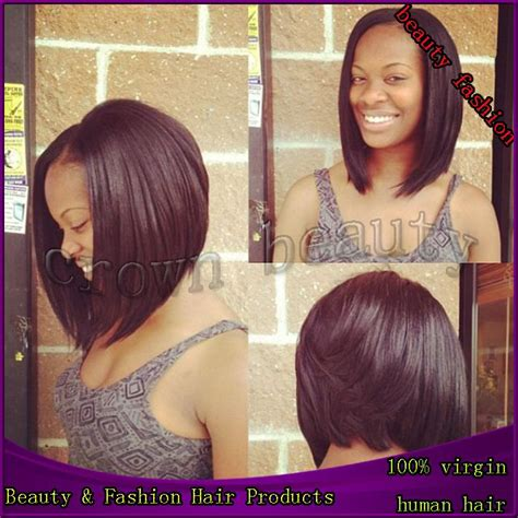 8 inch sew in hair styles 8 inch sew in weave bob with swoop hairstyles bundle of