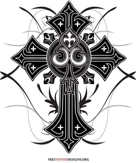 black cross tattoo designs 50 cross tattoos designs of holy christian