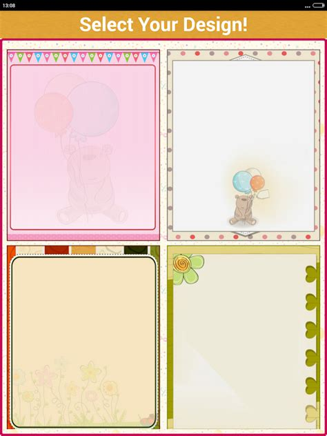birthday invitation card design maker birthday invitation card maker android apps on google play