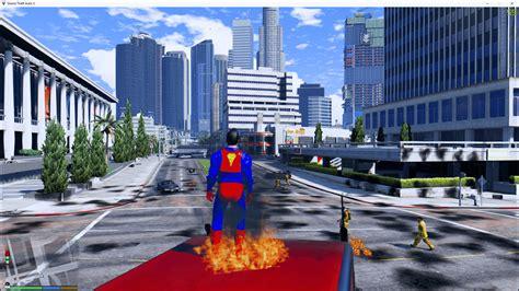 gta rpg mod gta 5 mods scripts superman v gta5 mods com