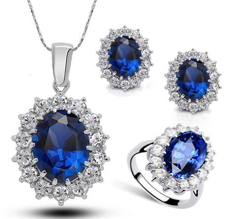 diana s blue stone earrings 2018 princess diana kate royal wedding ring blue sapphire