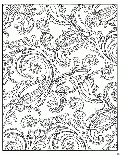 paisley heart coloring page adult coloring pages paisley coloring home