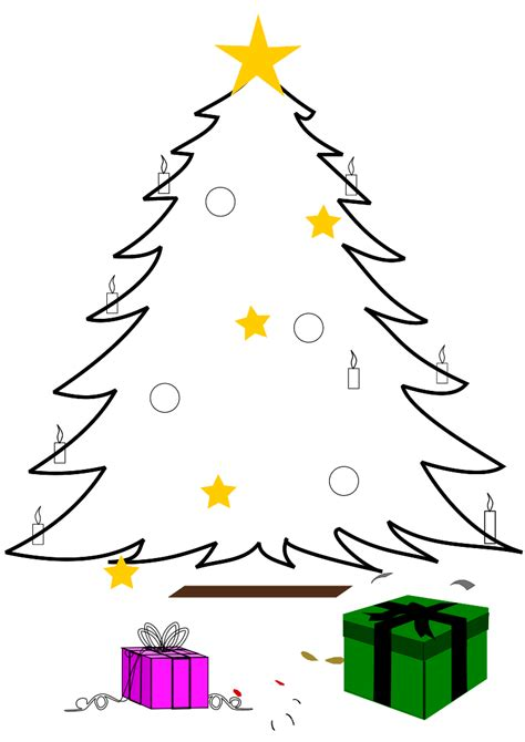 free clipart christmas tree clipart best