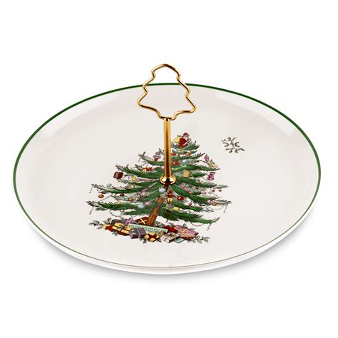 spode christmas tree cake plate 29 95 you save 30 05