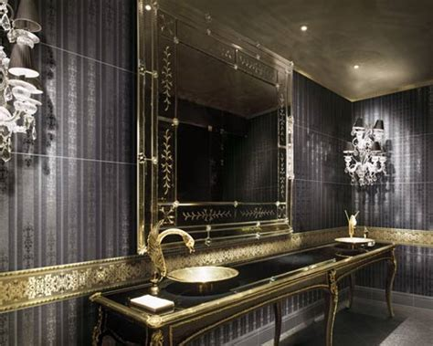 gold bathroom ideas gold bathrooms designs black bathroom and black bathroom vanity is a trend because black is