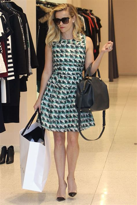 Reeses Lanvin Bag by Reese Witherspoon In Los Angeles Posh Point