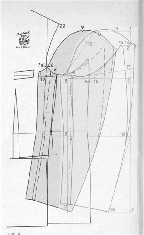 pattern drafting armhole sleeve to the and fashion details on pinterest