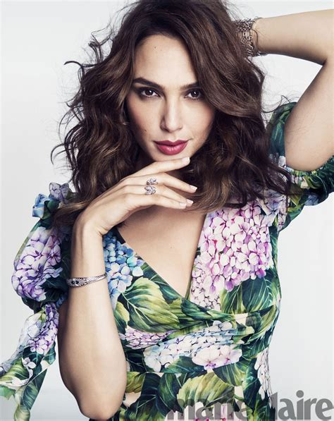 gal gadot gal gadot marie claire magazine us june 2017 cover and