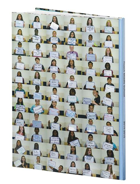 yearbook themes new beginnings 10 years in the making roach middle school frisco tx