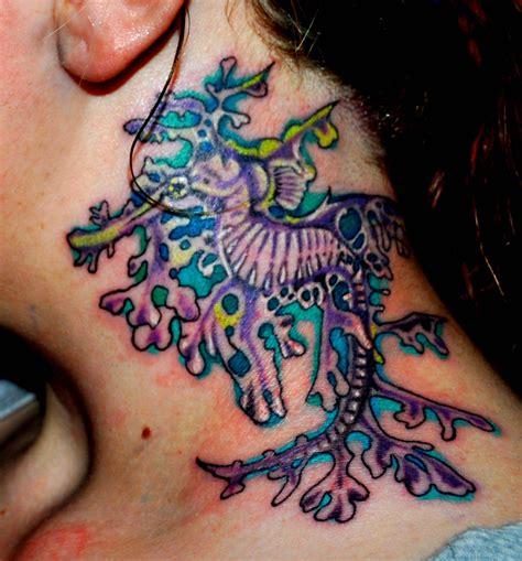 Tattoo Sea Dragon | leafy sea dragon tattoo by blackdarkness on deviantart