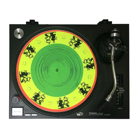 Custom Slip Mats by Uv Blacklight Slipmats 12 Custom Printed By Glowtronics