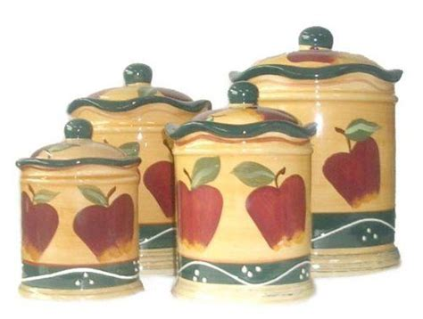 Country Apple Canisters Sets 500 X 378 183 27 Kb 183 Jpeg | country apple canisters sets 500 x 378 183 27 kb 183 jpeg