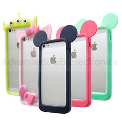 Mickey Soft Tpu Silicon Stand Cover Casing Universal Tablet 7 for iphone 4s 5s 6 soft silicone bumper tpu skin cover mickey mouse ears ebay