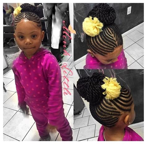 9 year old little girl hair braided witb weave kids styles hairstyles for little girls pinterest