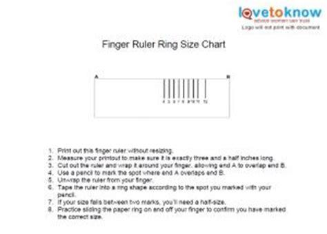printable ring sizer ruler printable ring size chart lovetoknow