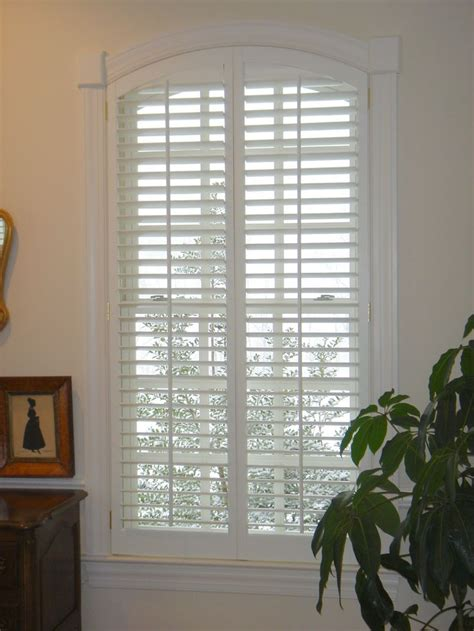 interior louvered shutter efficient window coverings the 53 best images about arched plantation shutters on