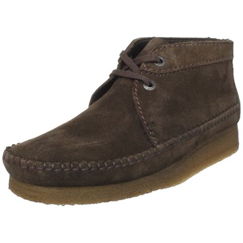 clarks clarks mens weaver boot in brown for brown