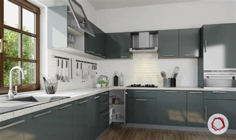 grey kitchens best designs 12 gorgeous grey kitchens for indian homes