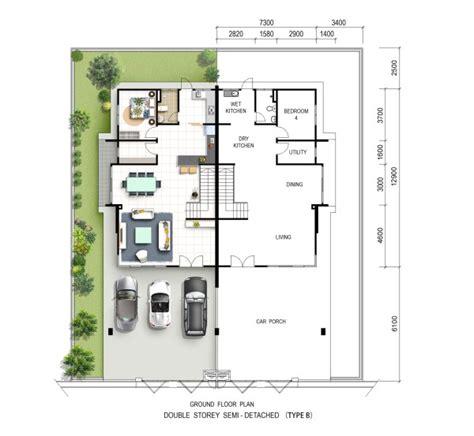 double storey detached house design raintree park 2 double storey semi detached house site floor plan